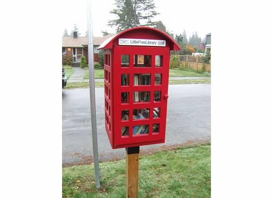 Little Free Library in Seattle