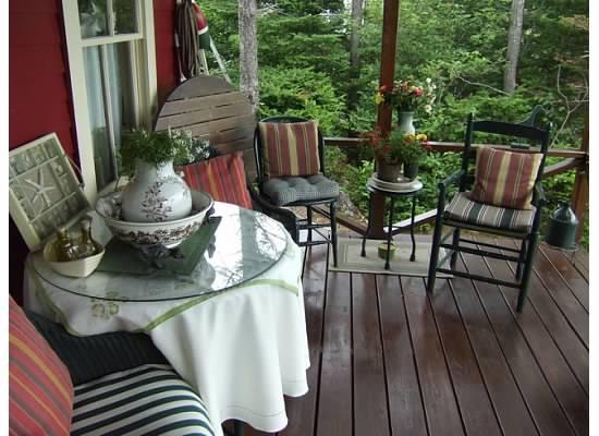Long Island garden tour 2012 - Jacqui's porch