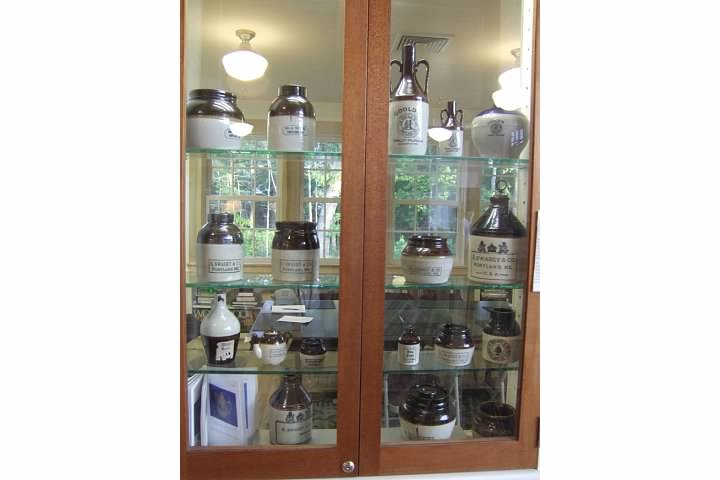 Portland Pottery exhibit