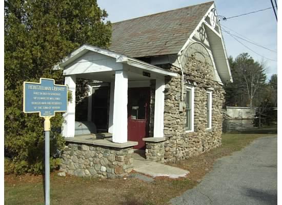Adirondack libraries - Brandt Lake