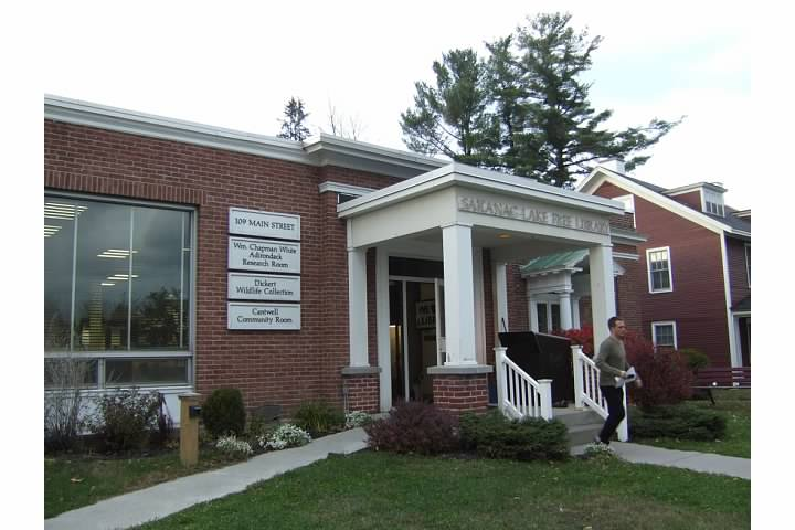 Adirondack libraries - Saranac Lake