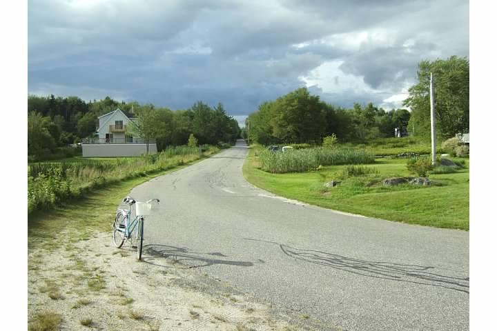bicycle on Long Island