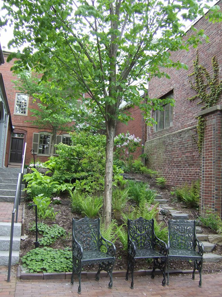 Longfellow house and garden May 2015